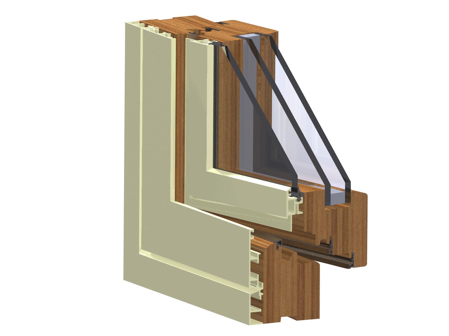 Finestre legno e alluminio prezzi for Costo infissi legno alluminio
