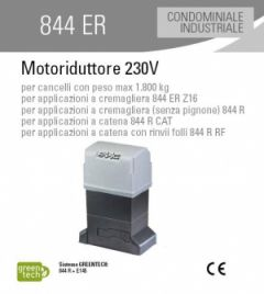 FAAC Motoriduttore 844 R 3PH